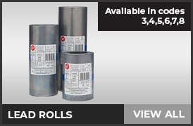 Lead Rolls - Available in code 3,4,5,6,7 & 8